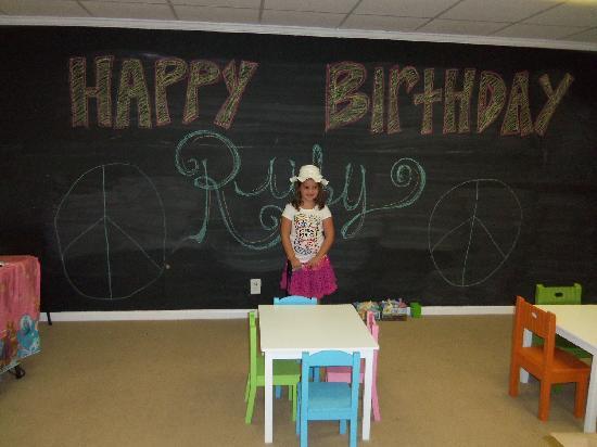 Keep It Sweet: Birthday Room!