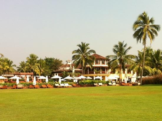 Park Hyatt Goa Resort and Spa: view of pool and village square