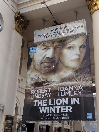 Haymarket Theatre Royal: Poster - The Lion in Winter