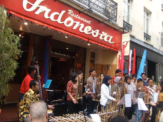 Restaurant Indonesia Rue De Vaugirard