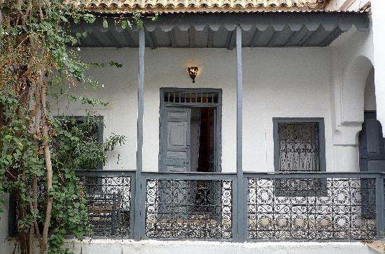 Dar Touyir balcon et chambre