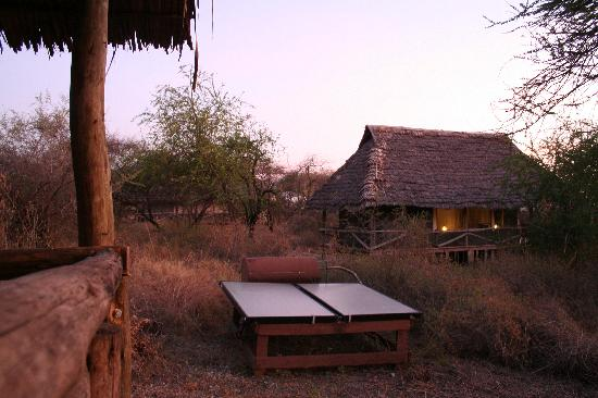 Lake Burunge Tented Camp: Individual tented lodges