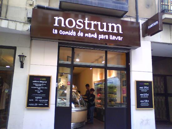 Nostrum : Fachada principal