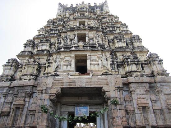 Mysore, India: Temple Gopuram... Salutations