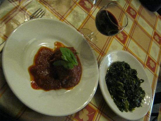 Osteria della Mattonella: braciole e friarielli