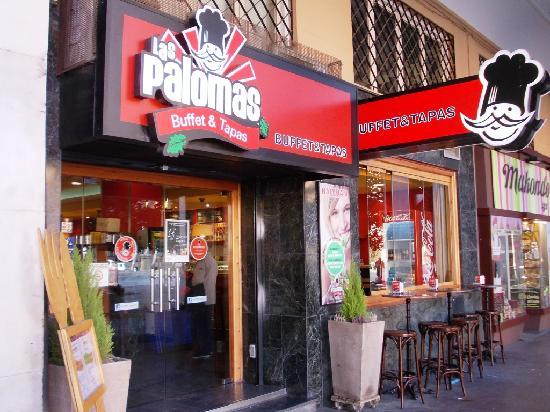 Las Palomas Buffet & Tapas : Esterno