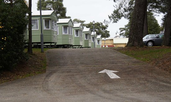 Parkdean - Sandford Holiday Park: Approaching the Club complex