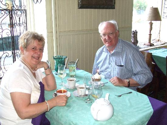 Baldachin Inn: We could not ask for anything better to celebrate our 48th Wedding anniversary