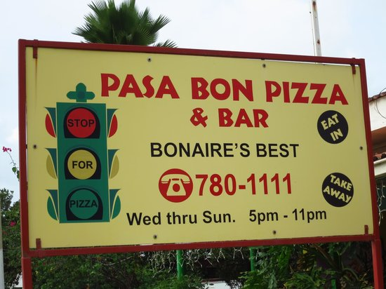 Pasa Bon Pizza : Look for this!