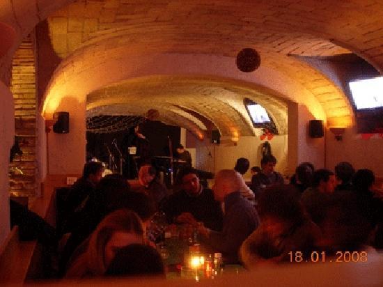 La Moretta : sala inferiore