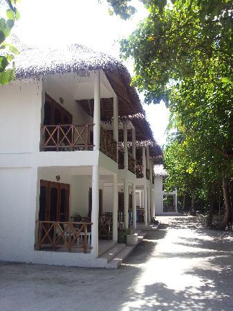 Fihalhohi Island Resort: Comfortbungalows (20 m vom Strand entfernt)
