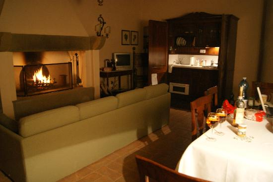 Agriturismo San Gallo: Fireplace