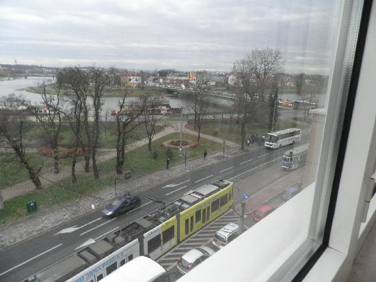 Kossak Hotel: view from room