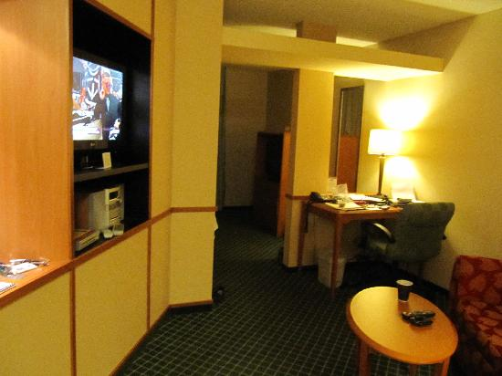 Fairfield Inn & Suites Williamsport: living room