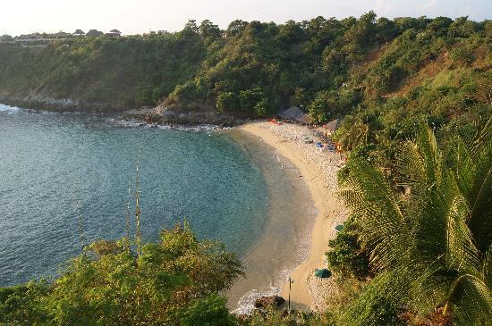 Villas Carrizalillo: 'La playa vista desde la villa