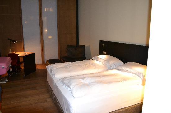 Alma Barcelona: The bedroom area