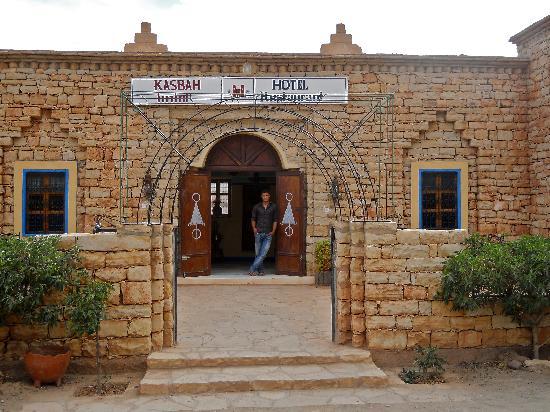 Kasbah Imini : L'ingresso e il ragazzo che ci ha ospitato.