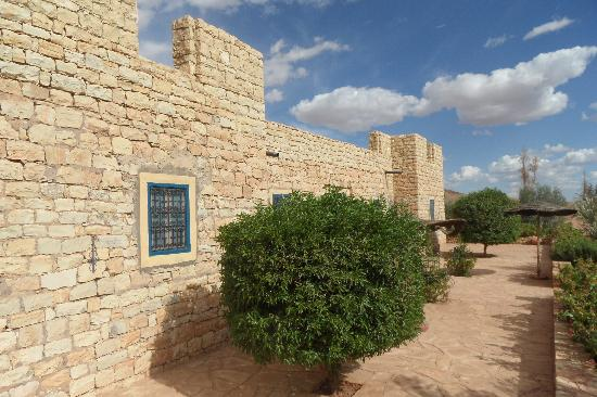 Kasbah Imini : Un angolo del giardino