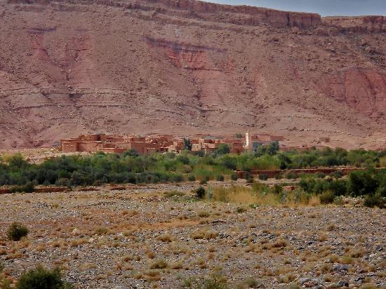 Kasbah Imini : Vista dal giardino