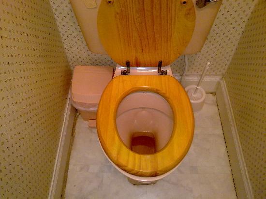 Adelphi Hotel: someone elses pee....