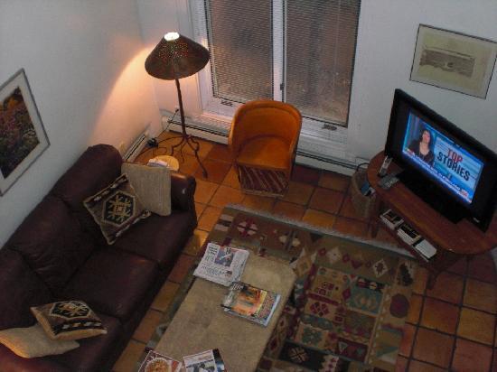 Las Brisas de Santa Fe: Las Brisas U-25 living area - view from loft