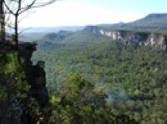Roma Aussie Tourist Park: canarvon gorge