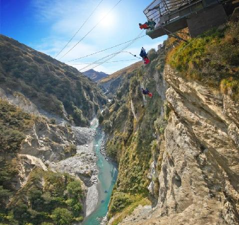 Shotover Canyon Swing & Canyon Fox: What a place to experience one of the best activities in New Zealand