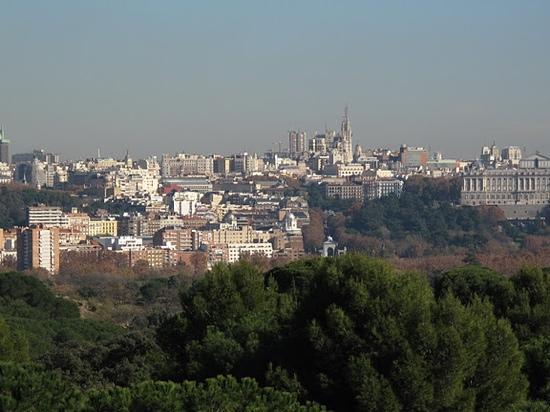 Teleferico: Madrid's awesome skyline from the Teleférico