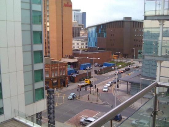 Meridian Terrace Serviced Apartments: View from the balcony