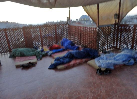"""Citadel Youth Hostel: rooftop """"accomidations"""""""