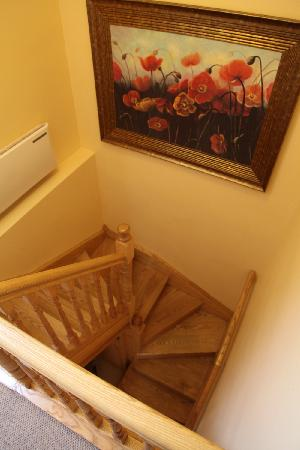 Bunratty Haven Bed and Breakfast: Staircase.