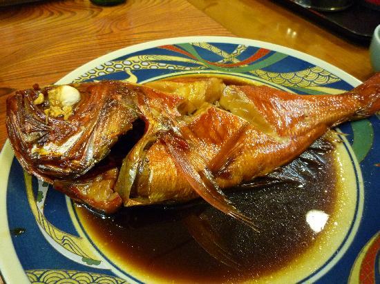 Miharuso: 初めて食べる金目鯛