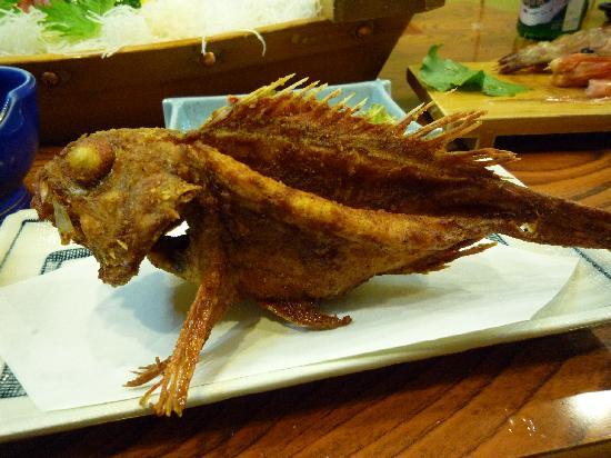 Miharuso: カリっカリのカサゴ