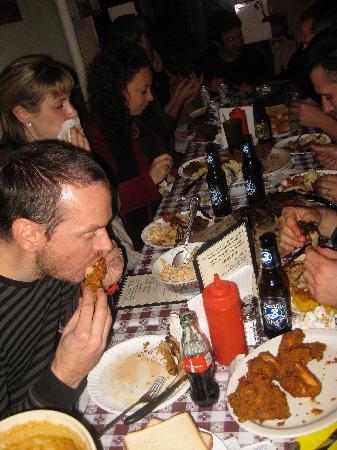 Georgia's Eastside BBQ : Food galore!