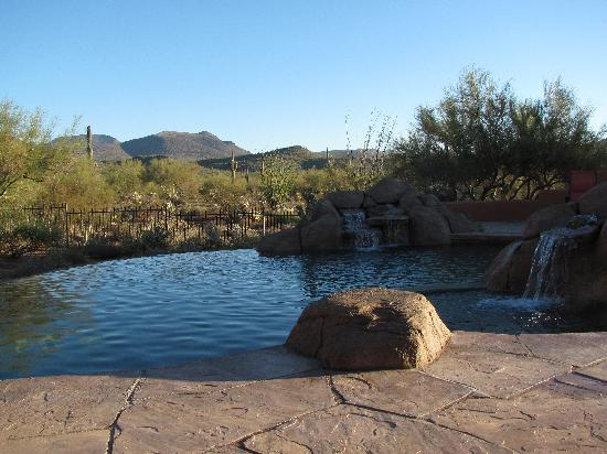 Full Circle Ranch Bed and Breakfast Inn: View from the pool/spa