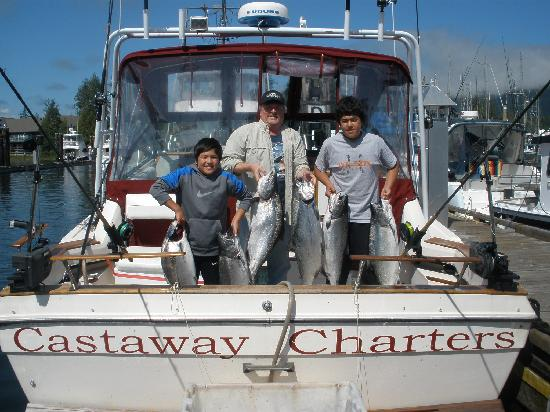 Castaway Charters: The boat