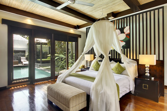 Le Jardin Villas, Seminyak: Private villa with pool
