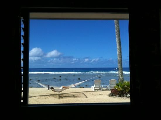 The Islander Hotel: view from room 3