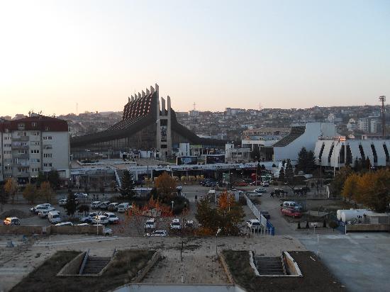 Grand Hotel Pristina: Room view