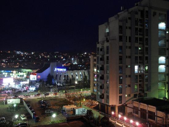 Grand Hotel Pristina: night view