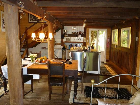 La Foret Enchantee: The kitchen dining area