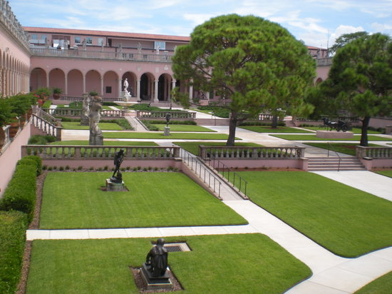 The Ringling: Inner Courtyard of the Art Museum