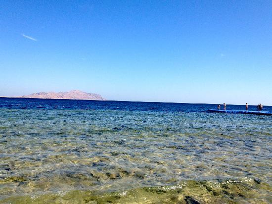 The Royal Savoy Sharm El Sheikh: View from the beach