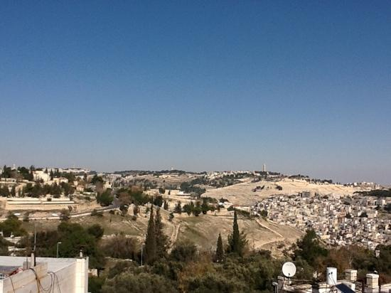 Dan Boutique Jerusalem: view from sun deck