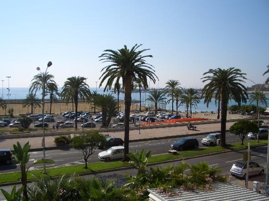 Hotel Napoleon: View from our room, Menton