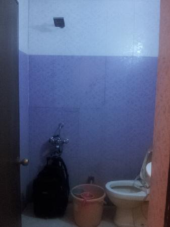 Hotel Gold Regency: トイレにシャワーが付いている錯覚に陥る。