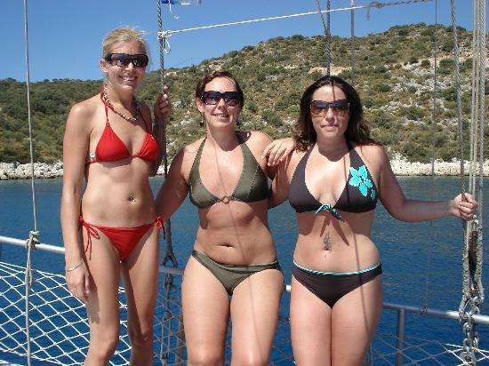 Think, that bikini boat trip very