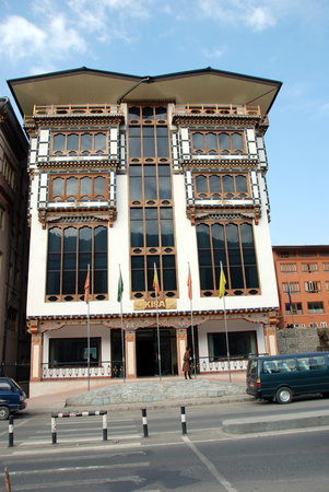 Kisa Hotel : De entree van het hotel