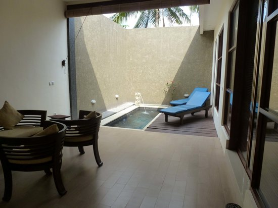 Bali Rich Luxury Villas Ubud: The plunge pool