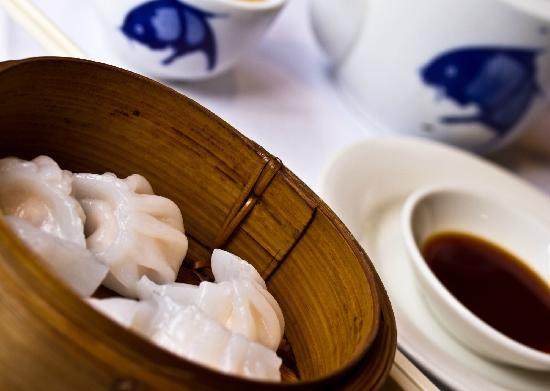 Dynasty Chinese Restaurant : Steamed Prawn Dumplings